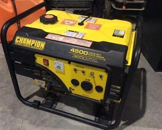 Generator, champion 4500 Watts
