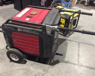 Honda generator model 6500 IS