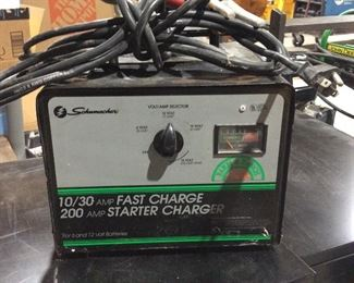 Fast charge battery starter and charger
