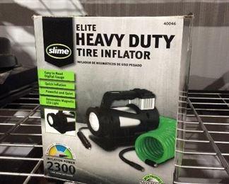 Heavy duty tire inflator