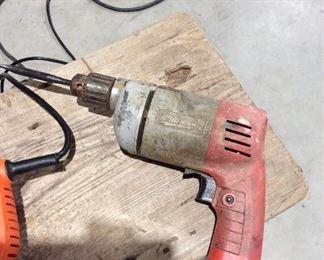 Milwaukee corded drill