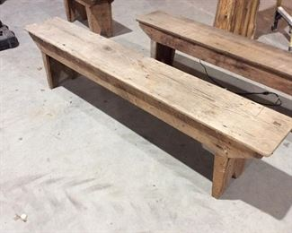 Another long wooden bench