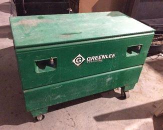 Greenlee tool storage chest