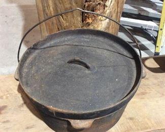 Cast-iron Dutch oven