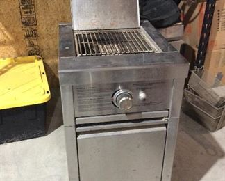 Propane fired Grill