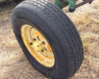 John Deere tractor Model 2040 Front tire