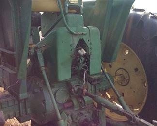 John Deere tractor Model 2040 Rear view