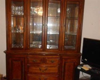 4-Door china cabinet