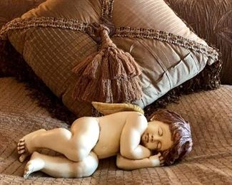 Sleeping Cupid Figurines