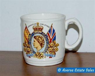English Coronation Mug
