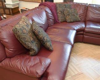 Large Dania Sectional Sofa