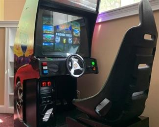 Midway Games Cruis'n USA Driving Arcade Console, 1994