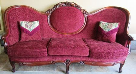 Antique Victorian sofa