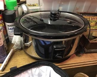 Crock pot - there are 2 at least if not more