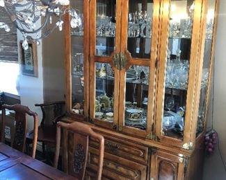 Vintage Bernhardt China Cabinet