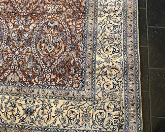 Persian 100% Wool & Silk Hand Knotted ( 1989) - Never Used - 6'10 x 9'11 -    $7,400  (was $39,995 )
