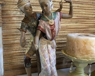 Lladro Figurine Thai Couple Dance (22 x 11) -  $890  ( was $1,624 )
