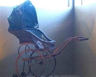 Antique Baby Stroller ( 1960s )