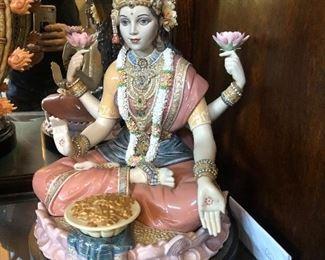 Goddess Lakshmi ( designer signed with original box)-  The spirit of India - $ 6,500 (  was $15,000 )