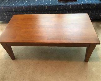 sturdy MCM coffee table