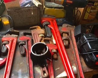 plenty of monkey wrenches and things to throw them into