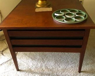 MCM Dillingham end table impress your friends!