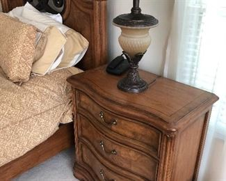 Thomasville Matching nightstand for queen bed