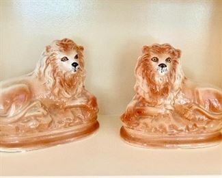 Porcelain bookends