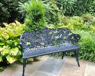 Iron bench (1 available)
