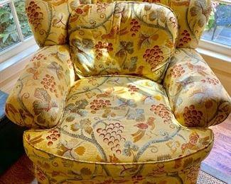 Pearson custom armchair
