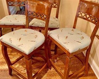 4 stools from  Nichols & Stone