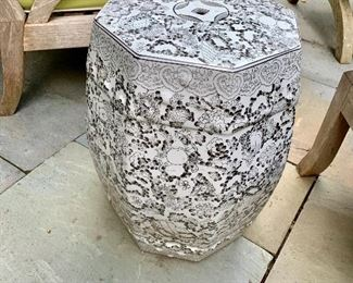 Horchow octagonal garden stools - 5 available