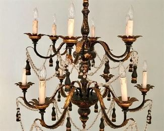 The Federalist two tier chandelier