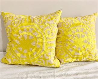 Trina Turk down pillows