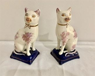 Staffordshire cats