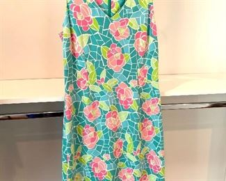 Lilly Pulitzer sleeveless dress; Shoes are 9.5-10 Clothes range from S-L. Most 8/10 and M/L