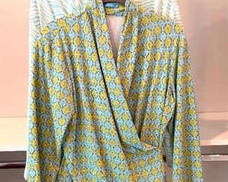 J. McLaughlin long sleeve blouses; Shoes are 9.5-10 Clothes range from S-L. Most 8/10 and M/L