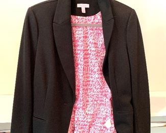 Lilly Pulitzer jacket; Shoes are 9.5-10 Clothes range from S-L. Most 8/10 and M/L