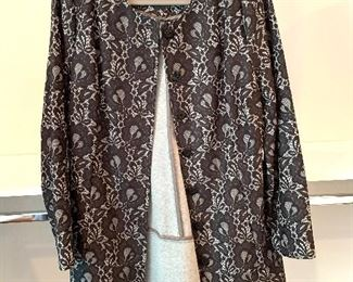 CaBi long jacket; Shoes are 9.5-10 Clothes range from S-L. Most 8/10 and M/L