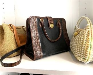 Handbags by Javitz, Brahmin and Lilly Pulitzer