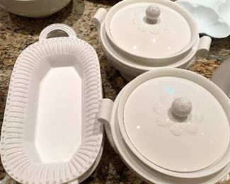 Villeroy & Boch and other serving pieces