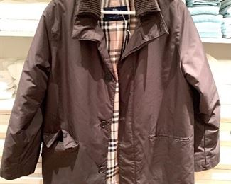 Burberry Men's Coat - Like New
