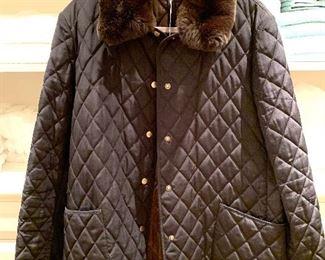Dana Buchman quilted coat