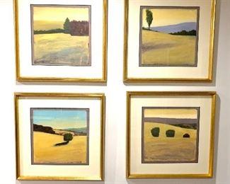 4 Landscapes by David Skinner