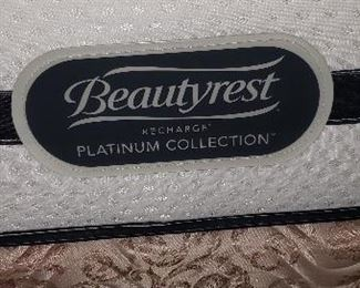 Queen Beautyrest Mattress Label