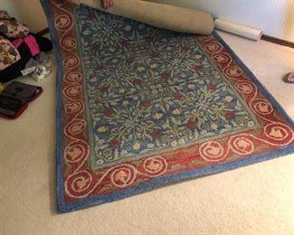 Great wool rug!