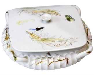 9. Fine Hand Painted Antique LIMOGESFRANCE Porcelain Vanity Box
