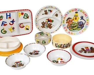 13. Mixed Lot Childrens Character DinnerFood Plates