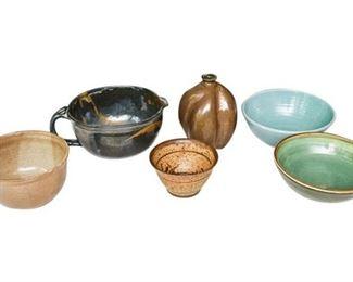 15. Mixed Lot Contemporary Artisan Pottery Kitchen Dishware Bowls