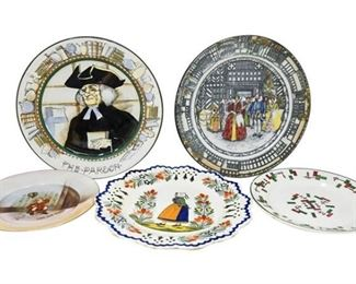45. Fine Selection of European Decorative Ceramic Plates